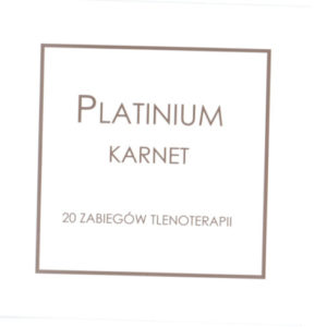 platinium karnet tlenoterapia tarnów